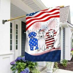 dachshund american flag