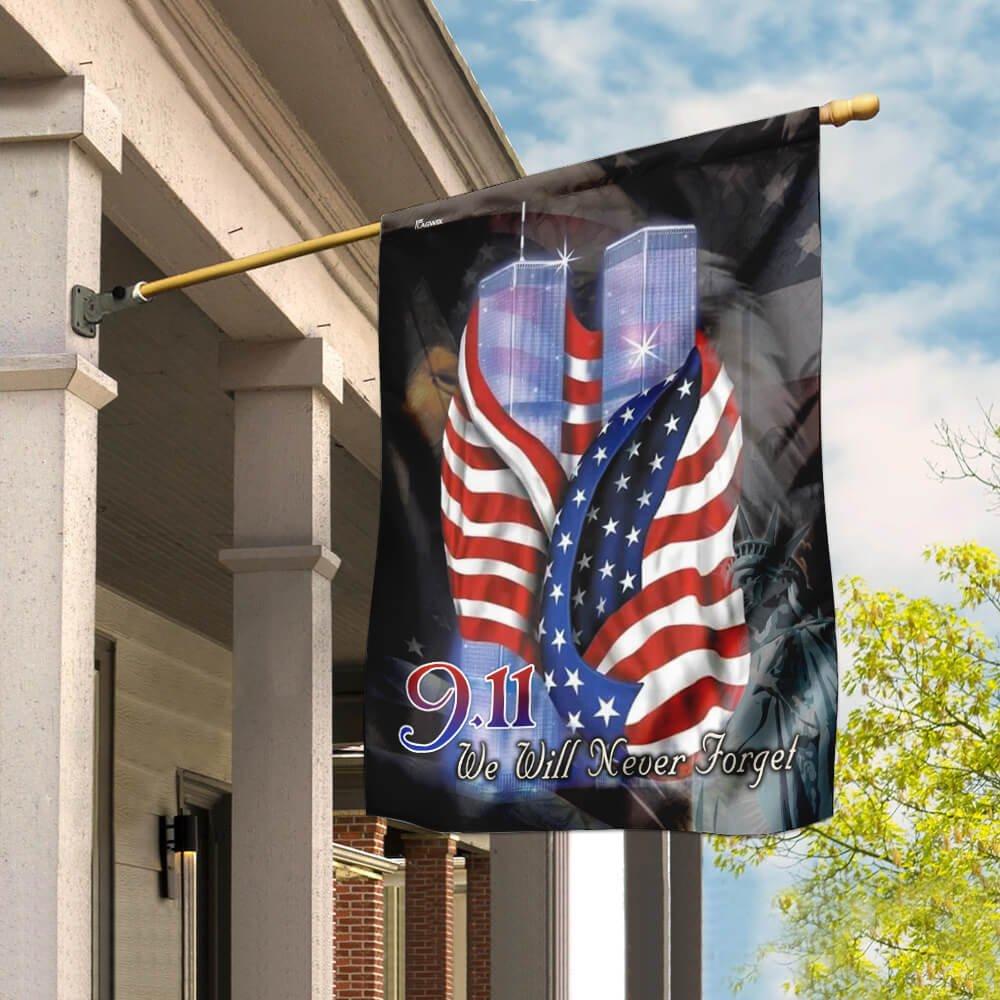 September 11th Never Forget Flag
