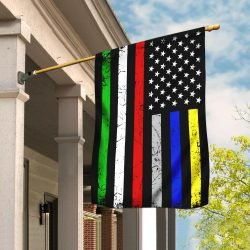 thin line first responder flag