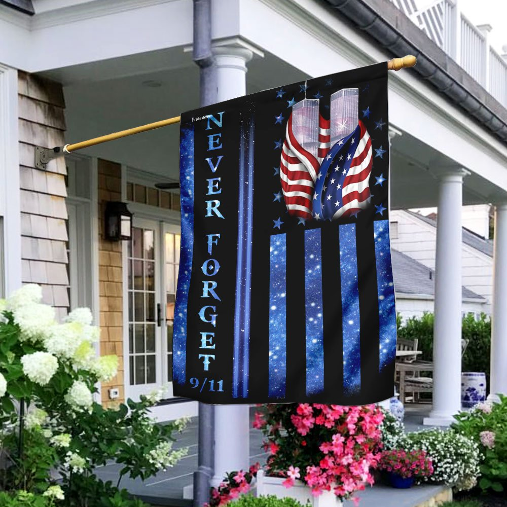 Never Forget 9112001 Flag WTC Patriot Day