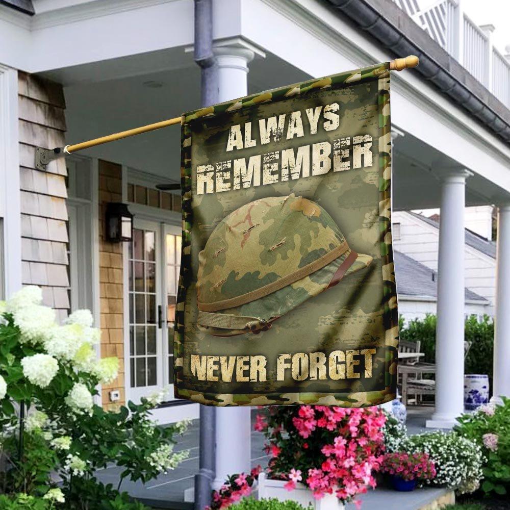 Always Remember Never Forget Veteran Flag Patriot Day